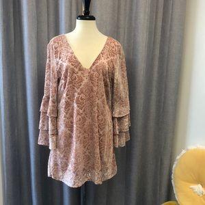 Lucy Love - Pink Quart Shine On Dress